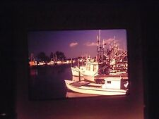 Photo slide Apalachicola Florida Fishing industrial Boat Ship Shrimp Oyster port