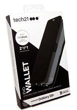 Tech21 Evo Wallet Tough Card Folio Flip Case for Samsung Galaxy S8+ Plus - Black