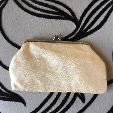 Vintage gold purse/cosmetic/evening. 1950s