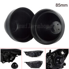 2pcs 85mm Rubber Housing Seal Cap Dust Cover For LED HID Headlight Kit Retrofit