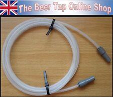 """3/16"""" Beer Line / Pipe & John Guest 3/8"""" Stem Reducer for Beer Tap & Keg Coupler"""