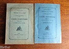 GUERRE MONDIALE 1914-1918 Cours d'histoire des écoles militaires texte + cartes