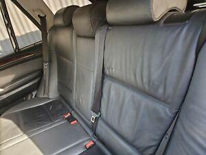 2001-2002-2003-2004-2005-2006 BMW X5 E53 SET 3PC REAR SEAT BELTS BLACK