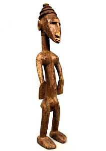 Art Africain Tribal African Africano Afrikanische Kunst - Statue Bamana - 64 Cms