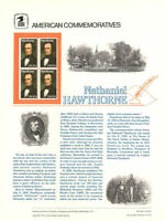 #194 20c Nathaniel Hawthorne #2047 USPS Commemorative Stamp Panel
