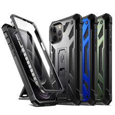 Apple iPhone 12/12 Pro/12 Mini/12 Pro Max caso, a prueba de choques con soporte Cubierta