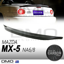Mazda MX-5 Miata NA 89-98 OKAMI Type 2 ducktail rear spoiler carbon fiber