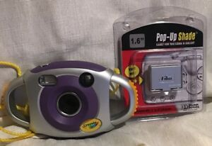 Crayola Child's First Camera Digital 2.1MP w/ Pop Up Shade & Batteries *Tested