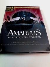 """DVD """"AMADEUS EL MONTAJE DEL DIRECTOR"""" 2DVD COMO NUEVO DIGIPACK MILOS FORMAN EE"""