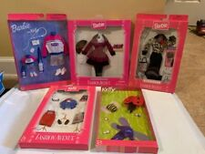 5 Barbie and Kelly Fashion Ave