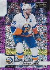 2017-18 O-Pee-Chee Platinum Violet Pixels #126 Andrew Ladd