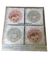 Disney Bambi Thumper Coasters Set Of 4 Mats Brand New Boxed Primark