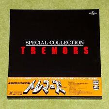 TREMORS Special Collection - RARE 1997 JAPAN 3 x LASERDISC BOX + OBI (PILF-2475)