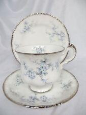 PARAGON - Brides Choice - Blue Flowers - TRIO - CUP, SAUCER, SIDE PLATE - 1051
