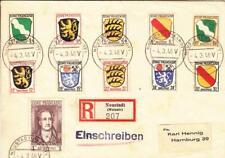 1946, Neustadt, Germany, french Zone, Registered, Philatelic Cover (38010)