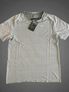$70 Nike Techknit Ultra Running Reflective Sz M Shirt Top T shirt Men's