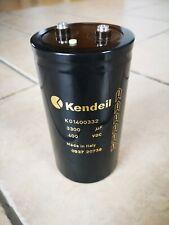 6x KENDEIL 3300UF 400V K01400332 HI END Kondensator