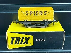TRIX TRAINS OO PRIVATE OWNERS WAGON ' SPIERS ' BOXED No 1657