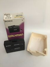 Boxed Sony Walkman WM-FX28 (vintage 1993) FM/AM Radio Cassette Player