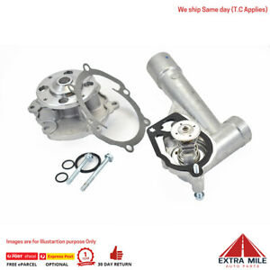 Water pump and Thermostat for COMMODORE VZ VE V6 3.6L ALLOYTEC SV6 GWP5000