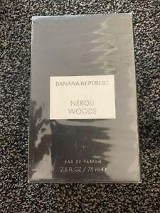 NEW Banana Republic Neroli Woods Eau de Parfum Spray 75ml Unisex Fragrances
