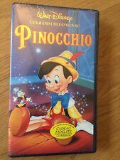 PINOCCHIO  Walt Disney VHS SECAM 0245/22 - Les Grands Classiques NEUF !