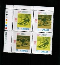 Canada 1988 Olympic Winter Games Mnh bl/4 # 1195-95 Book 500