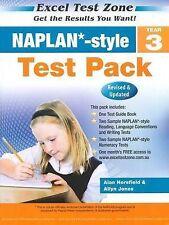 NAPLAN-style Test Pack - Year 3 by Allyn Jones, Alan Horsfield (Paperback, 2013)