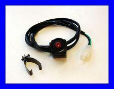 Universal Stopp Schalter Stoppschalter 12V für 22mm Lenker DirtBike PitBike