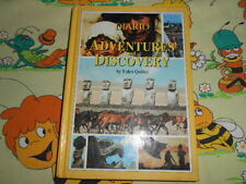 DIARIO Adventures Discovery Folco Quilici School Ware Agenda Vintage Diary