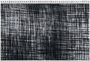 Viskose Gewebe - Graphisches schwarz-weiß Muster