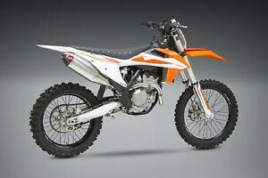 Yoshimura 2019 2020 KTM 250 XC-F 350 XC-F Slip-On Exhaust RS-4 System SS-AL-CF