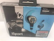 Monster iSport Strive 'In Ear' Headphones Earbud Blue New Factory Sealed Package