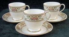 Three - ROYAL DOULTON - ALTON - CUPS & SAUCER