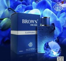 Brown Orchid SAPPHIRE Perfume By Fragrance World 80 ML:🥇Best Seller Worldwide🥇