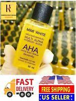 3 x MIMI WHITE AHA Whitening Body Serum Brightening Skin 30ml US Seller 🇺🇸.