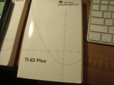 Texas Instruments Ti-83 Calculator Plus Guidebook Instruction Manual Book