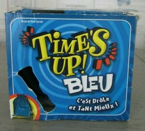 Jeu Time's Up ! Bleu / Asmodee Repos Production 2011 / Avec Sablier 4-12 joueurs