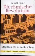 Ronald Syme, Die Romische Revolution.  German Edition   ST 9