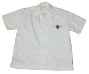 Santa Anita Race Track 75th Anniversary size Small white short sleeve shirt