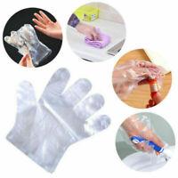 100/300/500pc Home Restaurant Polythene Disposable Gloves Food Safe Glove