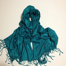 Pashmina Scarf Hijab Shawl Stole Wrap wedding 100% Viscose High Quality UK