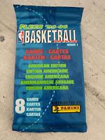 *** FLEER 1 paquet 1995/96 serie 1 basketball NBA vintage 8 cartes ***
