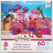CEACO® KIDS 60pc LALALOOPSY • SAHARA MIRAGE • GLITTER • PUZZLE Jig Saw AGES 4+