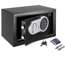 Elektronischer Möbeltresor 31x20x20cm Safe Tresor Wandtresor Geldschrank Schwarz