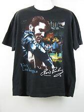 Elvis Presley Viva Las Vegas Skyline Music Band Graphic T-Shirt XL/XXL