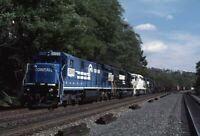 NORFOLK SOUTHERN CONRAIL Railroad Train Locomotives SUMMERHILL PA Photo Slide