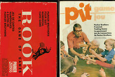 Parker Brothers, Rook, Pit, 2 Card Games