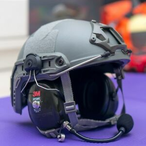 MX-03 PPG Helmet Powered Paragliding Paramotor Headset Delta Wing 62cm Max Size