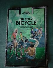 "Vintage ""Fix Your Bicycle"" Repair & Maintenace Manual Guide - Clymer Pub 1972"